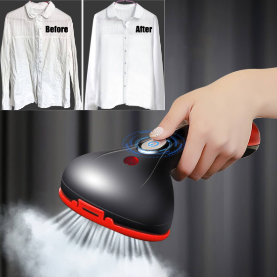 1500W Clothes Hanging Fabric Handheld Garment Fast Heating Steam Iron Powerful Lightweight Safety Cleaning Travel Portable