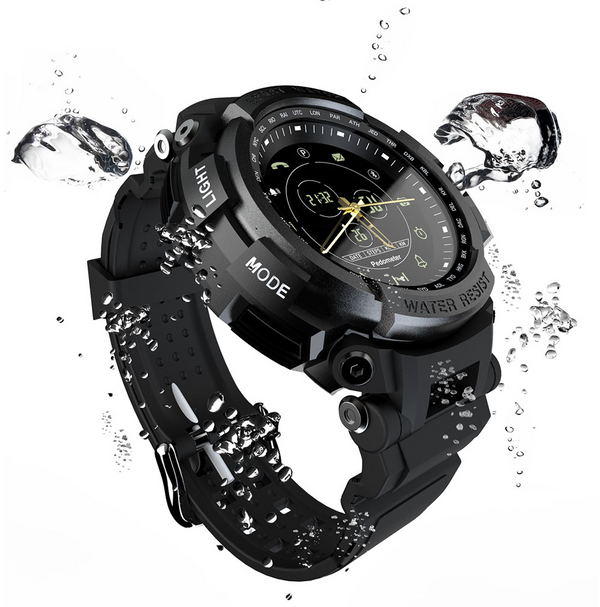Smart Watch Professional 5ATM Waterproof Bluetooth Call Reminder Digital Men Clock SmartWatch For ios and Android