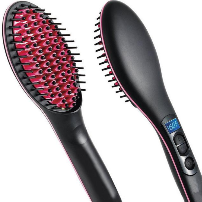Simply Straight 3 in 1 Ceramic Hair Straightening Brush (Original)