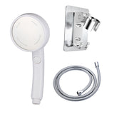 High Pressure Hand Switch Shower Head Handheld Rainfall Nozzle Sprayer