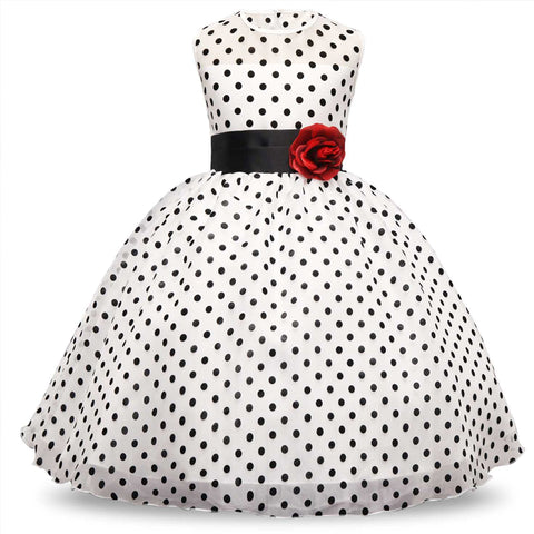 Bear Leader Girls Dress 2019 Summer New Dot Print Girl Princess Dress for Girls Party Dress Kids Dress Elegant Vestido 6-12Y