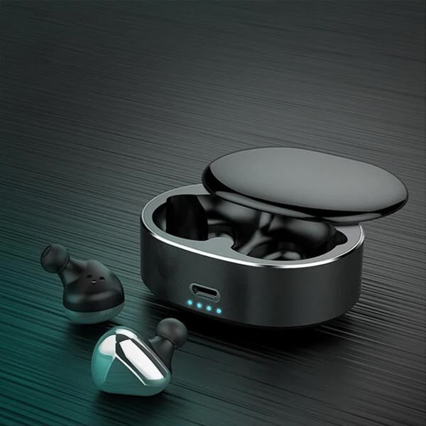【50% OFF + Free Gifts】T50 Wireless Automatic Durable Touch Control Bluetooth Earphone