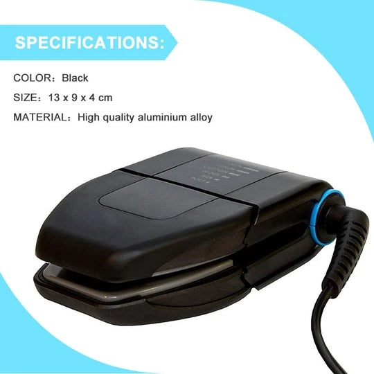 [Hot sale] Folding Portable Iron Compact Touchup and Perfect Foldable Travel Iron