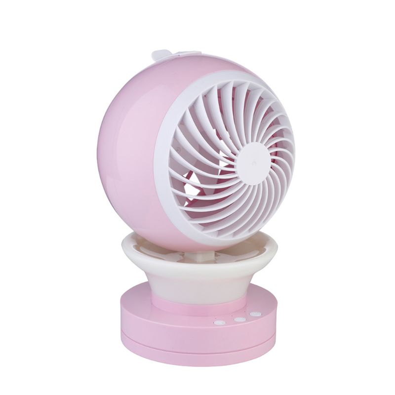 Mini Portable USB Charging Fan Ventilator Spray Cooling Fan