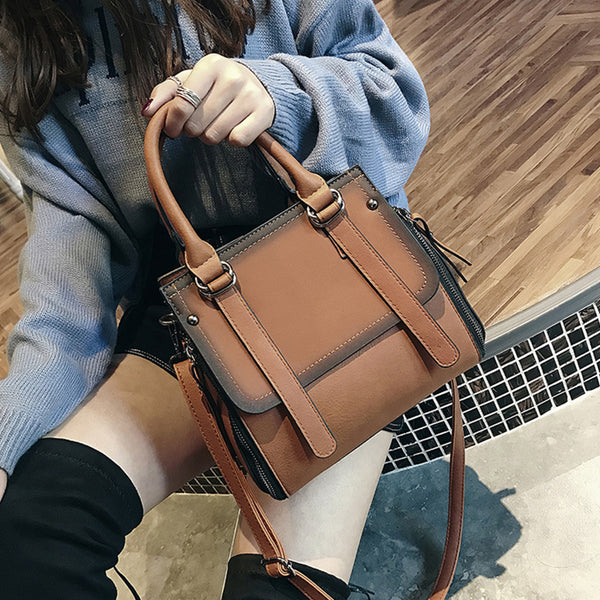2019 Female Brand Leather Handbag High Quality Small Bags Lady Shoulder Bags Casual