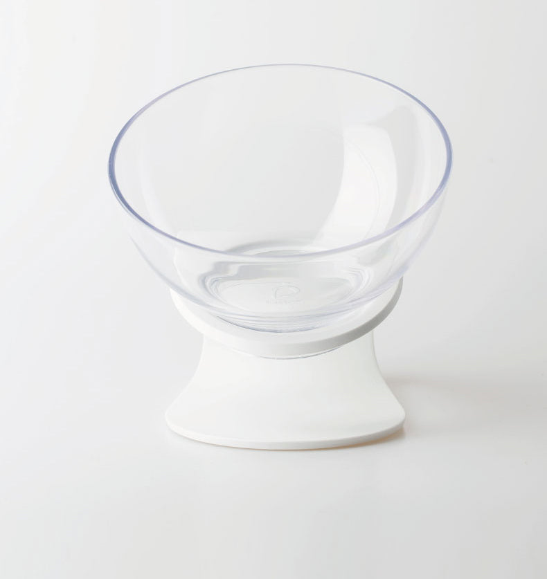 Transparent non-slip adjustable pet bowl