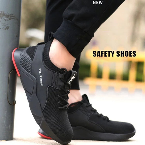 【Limited Quantity】2020 Plus Size Men's Winter Steel Toe Cap Protective Work Shoes Short Boots Men Steel Mid Sole Safety Indestructible Shoes