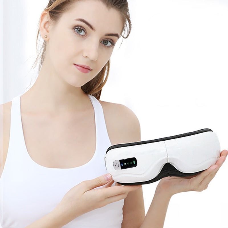 Wireless Bluetooth Eye Massager Vibration 45degree Infrared Heating Therapy Air Pressure Music Eye SPA Protect Eyesight Eye Care