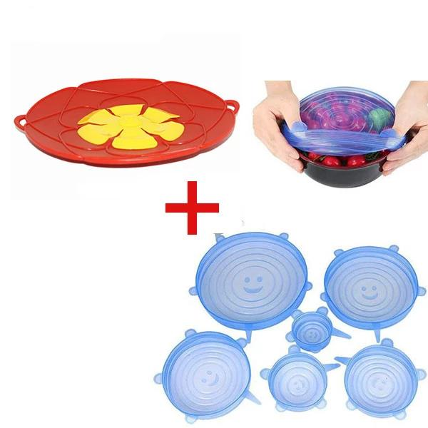 【Buy One Get Six Free】Flower Spill Stopper Silicone Lid