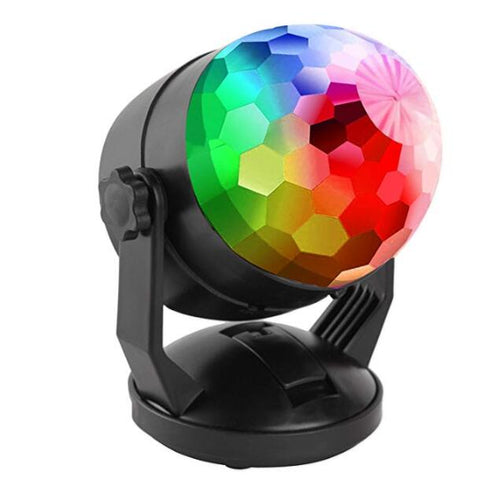 (Hot sale) Disco ball flash lights for cars and party. Buy two get $5 discount