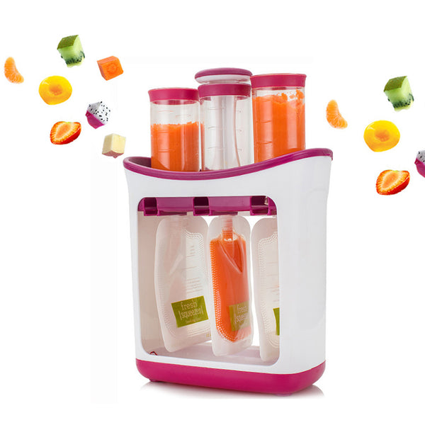 Baby Food Maker Baby Feeding Containers Storage Supplies