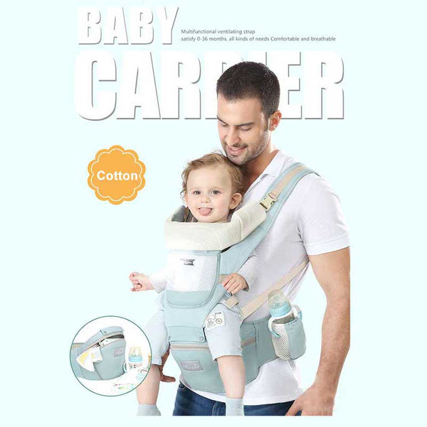 Baby Carrier Breathable Front Facing Comfortable Baby Wrap Carrier for 0-30months