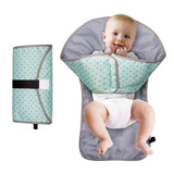 Soft waterproof Foldable Changing Pad and Diaper Bag(50% OFF )