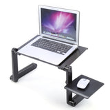 [الساخنه بيع طاولة قابلة للطي] Portable Mobile Laptop Standing Desk For Bed Sofa Laptop Folding Table Notebook Desk With Mouse Pad For Bureau Meuble Office