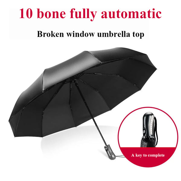 Broken Window Hammer Escape Fully Automatic Auto On-board Vehicle Bus Safety Anti-terrorism Multi-function Umbrella