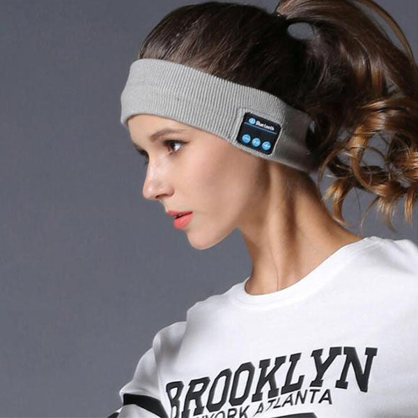 Bluetooth Music Headband - Microphone Smart Speaker Stereo Headset (Influencer Recommend)