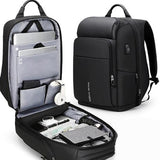 Anti-theft Backpack Men's Backpack Business Bag Multi-function Short-distance Travel Backpack Large Capacity 17-inch Computer Bag