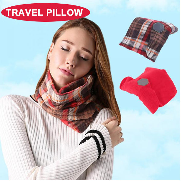 Travel Pillow Multifunction Super Soft Neck Support Travel Pillows for Trip Sleep Office Nap Drop Shipping