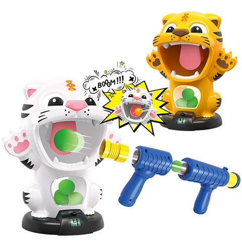 Duck Air-powered Safety Soft Bullet Shooting Toy Gun