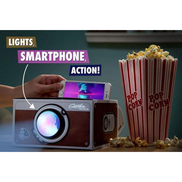 Smartphone Projector - Transform your mobile device into a big screen