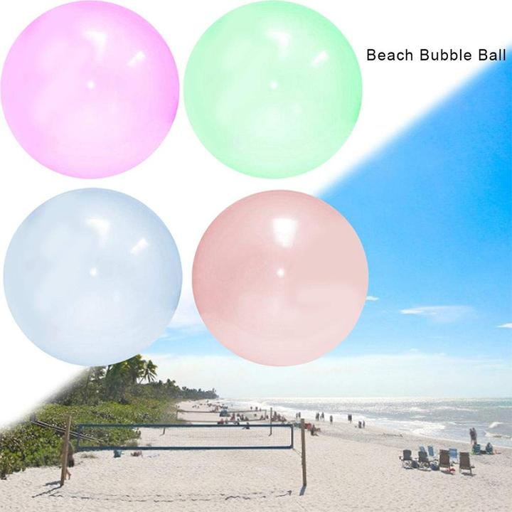 WOW! Amazing Bubble Balloon Inflatable Funny Toy Ball Amazing Tear-Resistant Super Gift Inflatable Balls for Outdoor Play