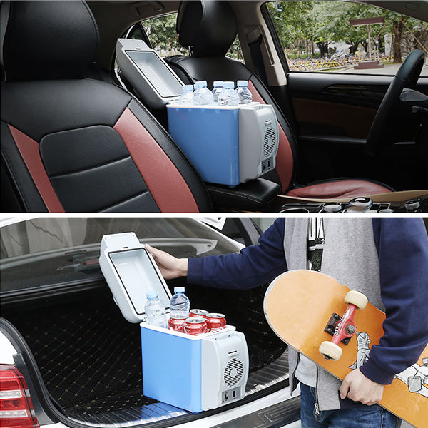 Electric Cooler and Warmer Car Refrigerator Portable Mini Fridge
