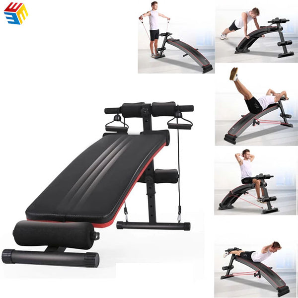Wholesale Folding Adjustable Sit Up Bench For Home Using