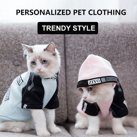 【2pcs】Cat clothes spring and summer thin trend pet clothing
