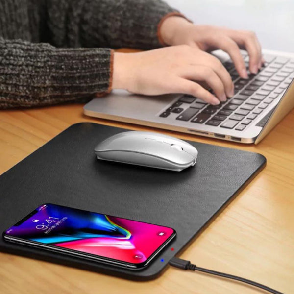 New creative wireless charging mouse pad