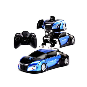 【HOT SALE】30% OFF-2 In 1 RC Robots Wall Climbing Stunt Control Deformation Car -【الروبوتات جدار تسلق تشوه سيارة】