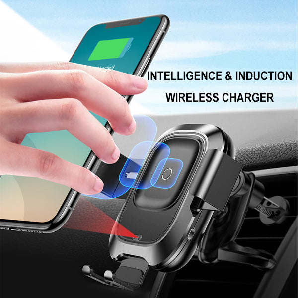 EOCC4 Car Wireless Charger, Automatic Sensing Camera For 4.0-6.5 Inch Mobile