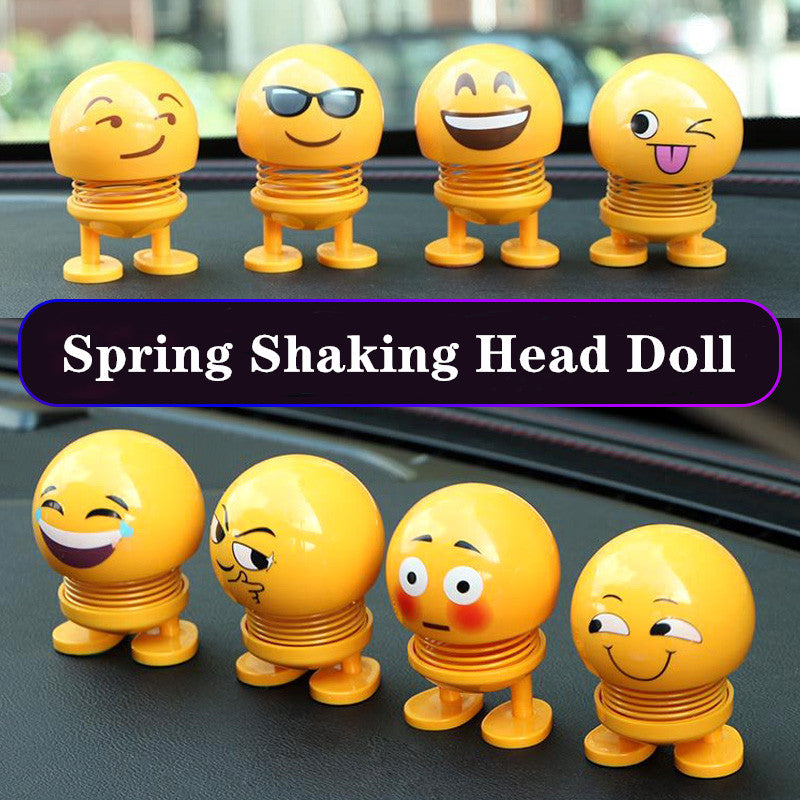 car accessories car decoration Car Ornaments creative cute doll shaking head decoration gift jewelry spring shaking head doll