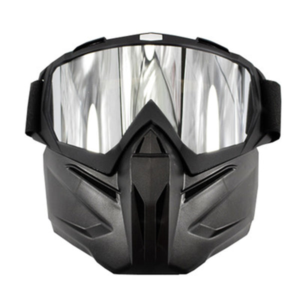 2 in 1 UV400 Protection Detach Mask