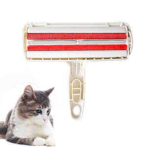 2-Way Pet Hair Remover Roller Removing Cat Hair for home cleaning