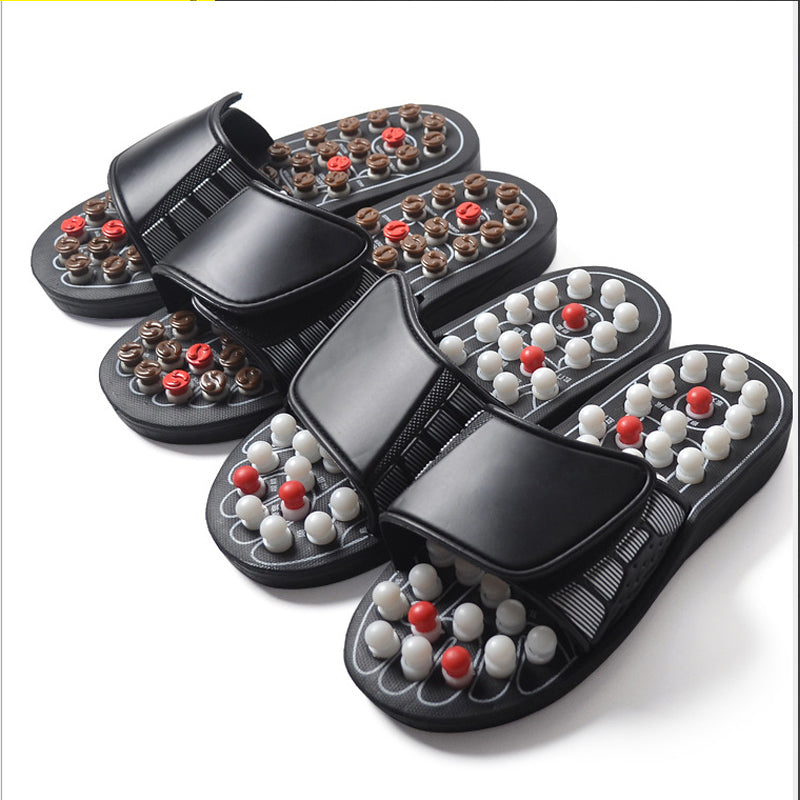 【Health and Wellness】Foot Massage Slippers -  Size(38-45)