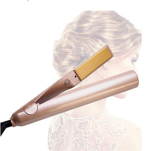 2019 ONE Mini Hair Iron Gold Corrugated Iron Electric Curling Iron Modeling Tools
