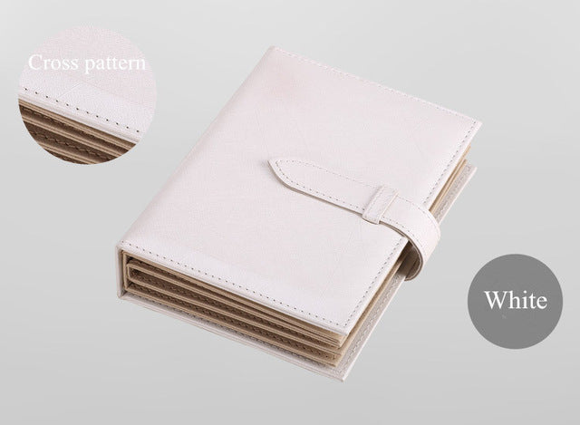 2019 Pu Leather 42 Pairs Stud Earrings Collection Jewelry Book Portable Jewelry Page Jewel Display Creative Jewelry Storage Box
