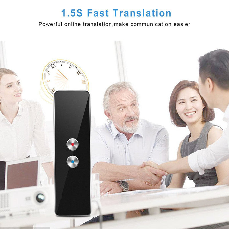 Two-Way Real-Time Portable Intelligent Voice-Activated Voice Translator 42 Multilingual Translation for Travel Training Business Meeting