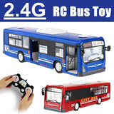 Large School Bus Remote Control Car Electric Door and Horn Simulation Light Sound