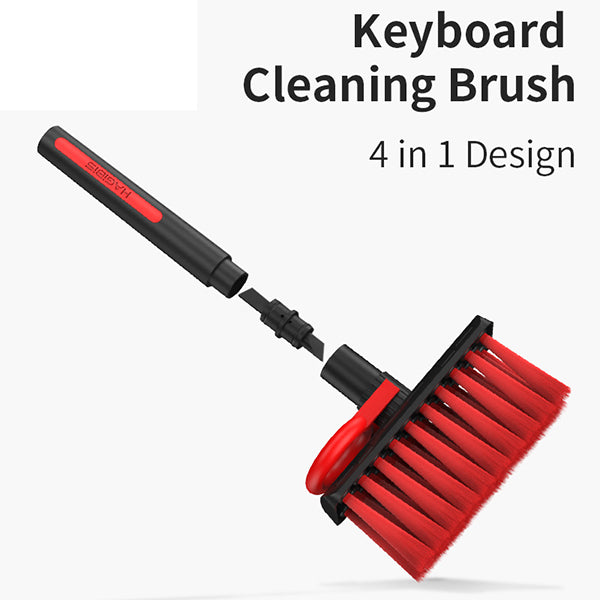 Keyboard Cleaning Brush 4 In 1 Multi-fuction Computer Cleaning Tools Corner Gap Dust Removal Cleaning Brush For Gamers