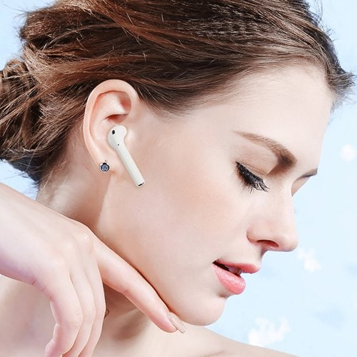 i12 Pop up TWS Binaural Call Bluetooth V5.0 Earbuds