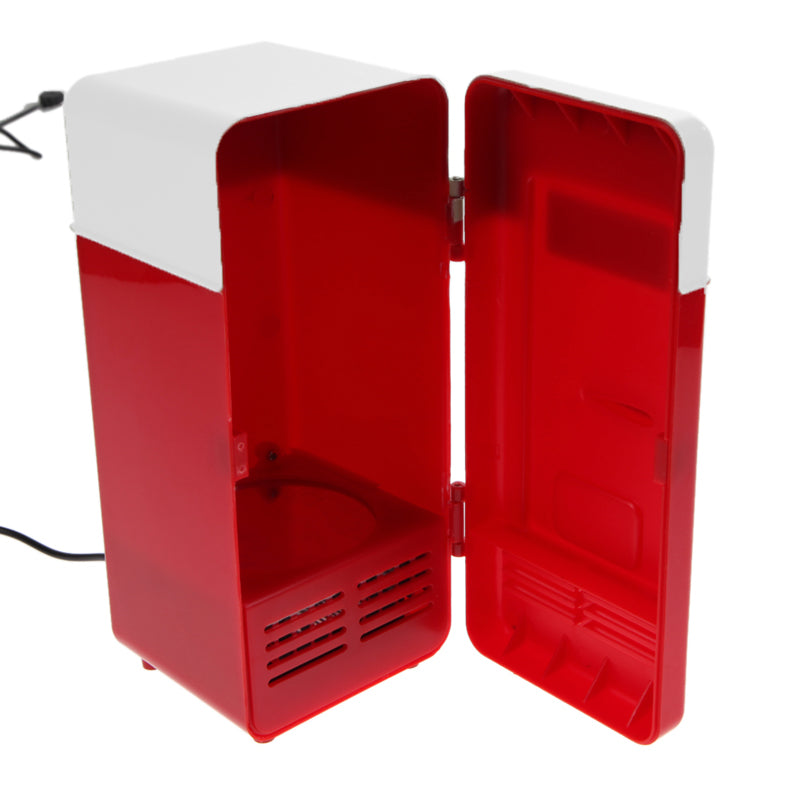 Mini Fridge-Desktop USB Beverage Can Cooler