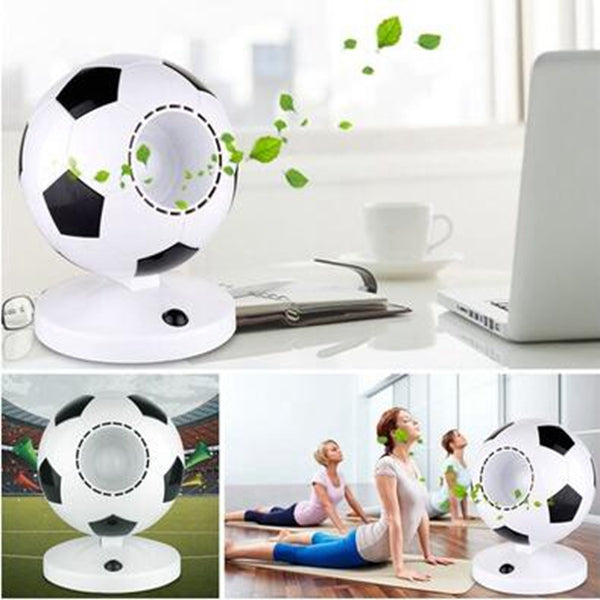 Football Themed Portable USB Bladeless Fan