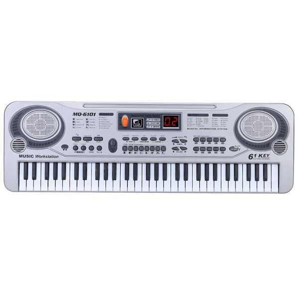 61 Keys Electronic Keyboard with Microphone