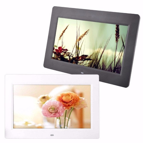 HD Digital Photo Frame Alarm Clock