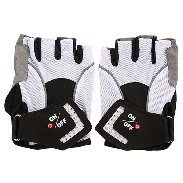 Turn Signal Gloves - LED Turn Signal Cycling Gloves Leather