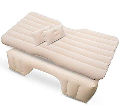 Car inflatable travel mattress bed universal back seat multi-function sofa pillow outdoor camping mat cushion