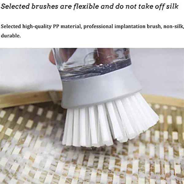 (Buy 1 Get 1 FREE) Press-type Dishwashing Brush