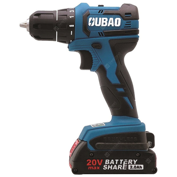 Industrial Grade 20V Brushless Lithium Electric Drill