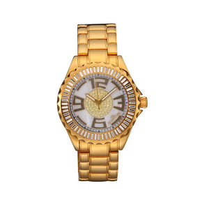 Women's Stainless Steel  Wristwatch With 100M Water Resistant